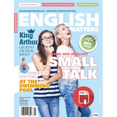 English Matters 5/18