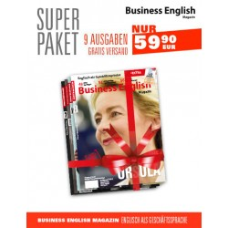 Super Paket 9 x Business English Magazine