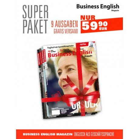 SUPER PAKET Business English Magazine