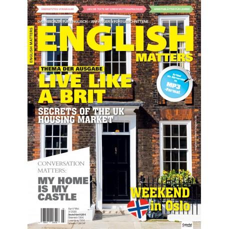 English Matters 3/20