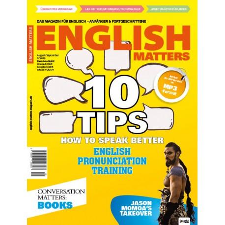 English Matters 5/19