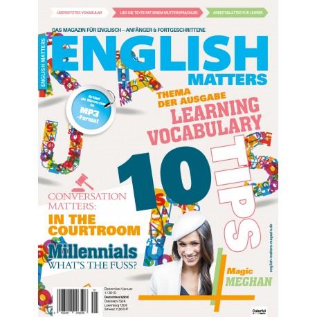 English Matters 1/19