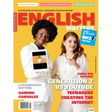 English Matters 1/21